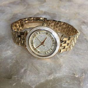 07ef0080cc44 Michael Kors Accessories - Michael Kors Mini Darci Crystal Pave Watch MK3445