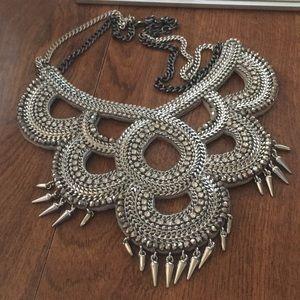 Stella and Dot Bib Rhinestone Necklace