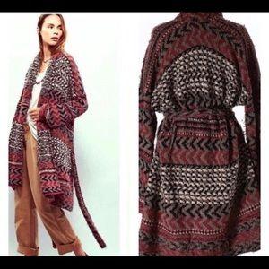 Free People Iona large boho cardigan / never wore