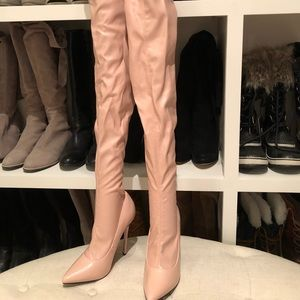 Nasty Gal thigh high boots