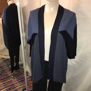 Zara geometric batwing cardigan