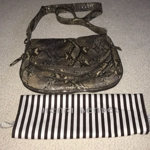 Henri Bendel Snake Skin Crossbody bag NEW!