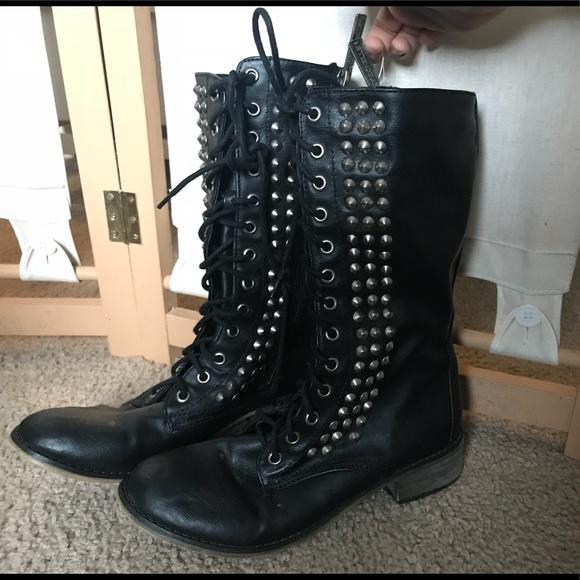 6c61417b133 Breckelles Shoes - 💞SALE💞Breckelle s Black Studded Combat Boots