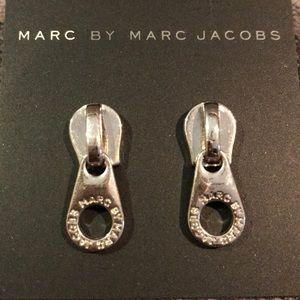 Marc by Marc Jacobs Zipper Stud Earrings