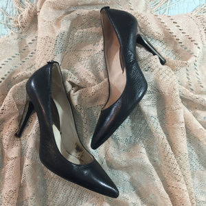 Michael Kors Black Pumps with Silver Heel