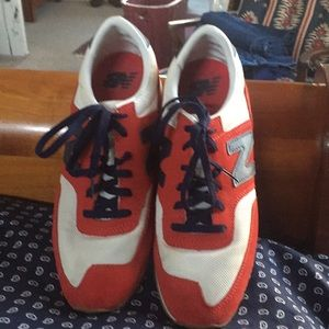 New Balance for J Crew sneakers. Worn once.