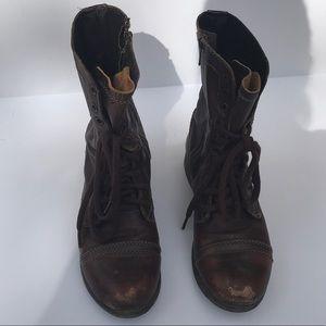 Women's Steve Madden Tripp's cognac boots size 6.5