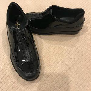 Cole haan Tali zip up rain shoe waterproof black