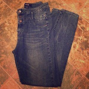 Super high waisted Refuge jeans