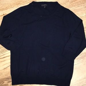 J Crew Navy Blue Tippi Sweater Size Large