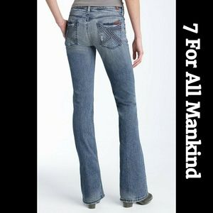 """7 For All Mankind """"Flynt"""" Bootcut Jeans"""