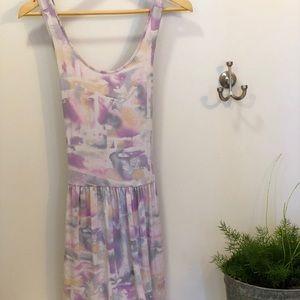 BCBG watercolors dress