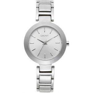 DKNY Silver Dial Stainless Steel Quartz Watch