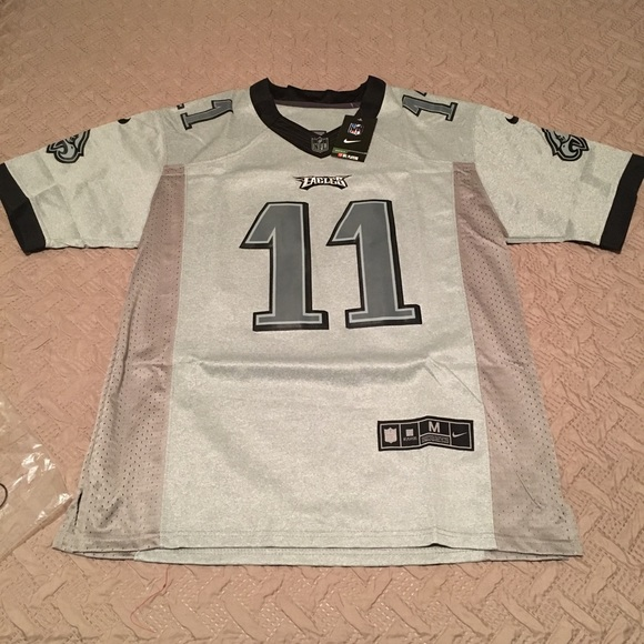 online retailer 5842b a7d70 NFL Nike Carson Wentz on Field 11 Jersey Eagles NWT