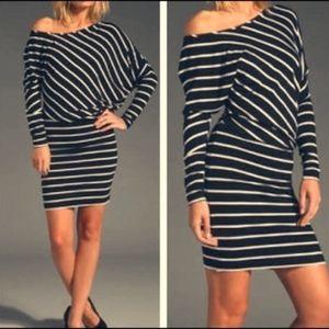 BCBG Dress with Asymmetrical Top