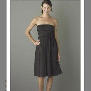 J. Crew Emily Strapless silk Dress