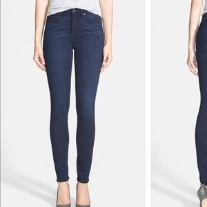 Paige Hoxton Ultra skinny high rise jeans, size 27