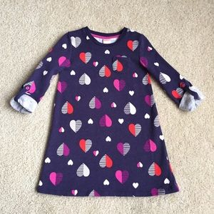 Gymboree Heart Sweater Dress Size 5