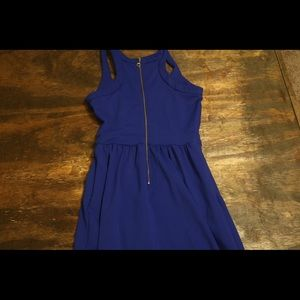Cynthia Rowley bright blue dress!