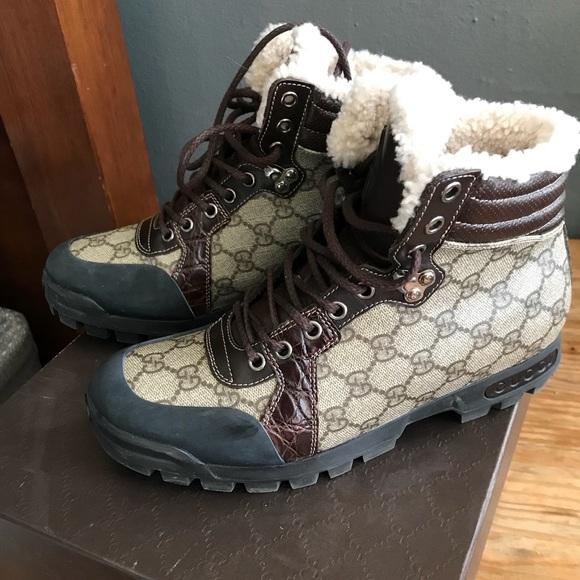 Gucci Shoes   Mens Gucci Boots Size 7