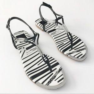 Brand New!  Dolce Vita black and white sandals