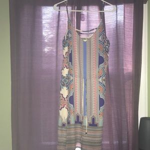 Lucy and Laurel paisley print dress