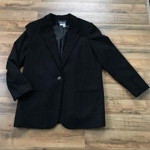 100% Wool Blazer Size 18