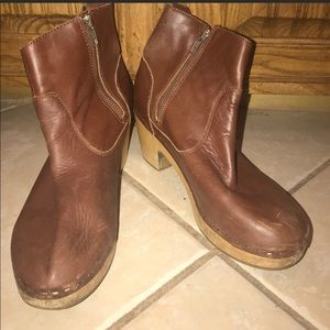 Steve Madden Clog Ankle Boots Booties Size 8