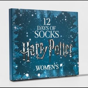 Accessories - Harry Potter Women 12 days socks advent calendar