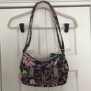 Vera Bradley Purple Punch small shoulder bag