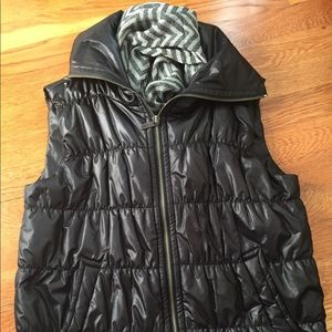 CK Black Winter Vest