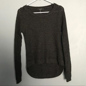 (Forever 21) high low sweater