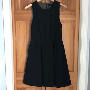 Little Black Dress w/ Fit & Flare Shape & Pockets