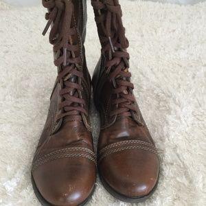 Steve Madden Combat boots women's