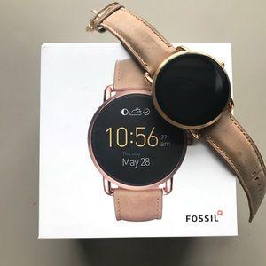 Fossil Smart Watch Gen 2 Wander Light