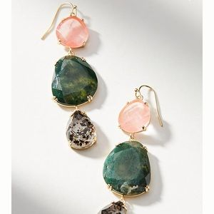 Triumverate Drop Earrings by Anthropologie