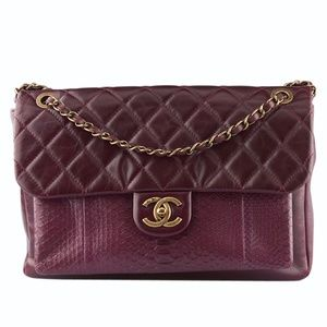 Chanel Quilted Shoulder Bag (130632)