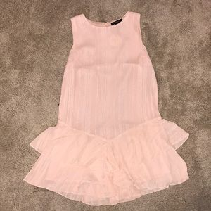 Pink, shiny forever 21 tunic, NWT
