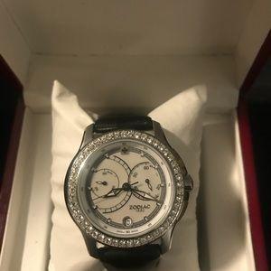 Zodiac Swiss Quartz Chronograph Watch