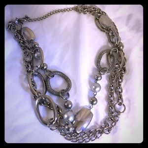 3 Strand Glamour necklace