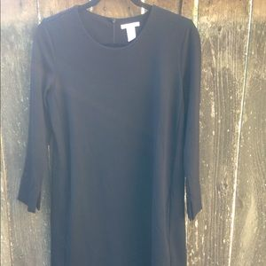 H & M Women's S Black Midi Dress