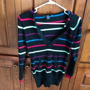 Rue 21 women's medium hooded black sweater