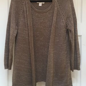 Modern classic cardigan and shell