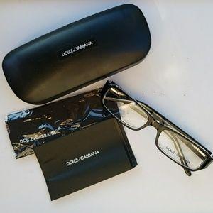 Dolce & Gabbana Glasses, Case, Cloth, Cards
