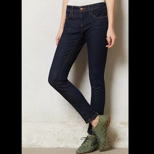 Anthropologie- Pilcro Serif Legging Jeans