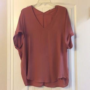 Mauve/ pink top