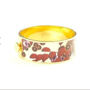 Coming soon! Ann Taylor mahogany enamel bangle