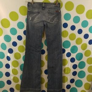 7 For All Mankind DoJo Distressed Size 26 Jeans