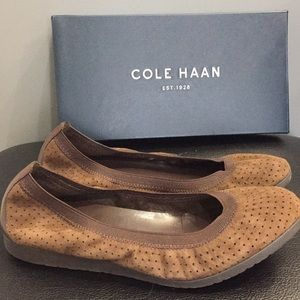 Cole Haan suede shoes. Size 7.5