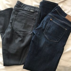 Two pairs of Skinny Jeans